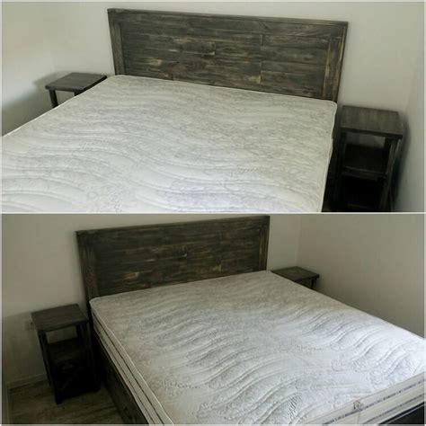 headboard with side tables attractive wood pallet recycling ideas pallet wood projects