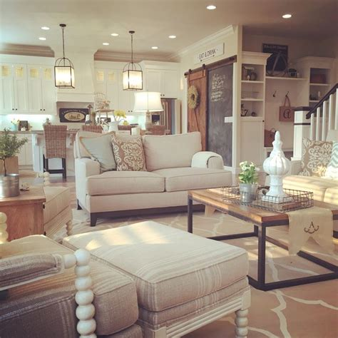 Modern Farmhouse Living Room Ideas | transform your home with farmhouse living room