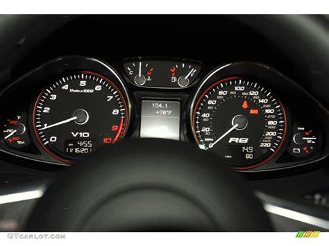 audi r8 gauges 2012 audi r8 5 2 fsi quattro gauges photo 56652774