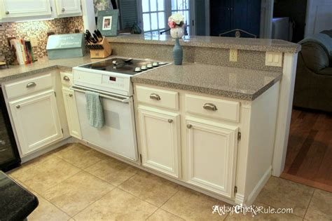 Chalk Painted Kitchen Cabinets by Kitchen Cabinet Makeover Annie Sloan Chalk Paint Artsy
