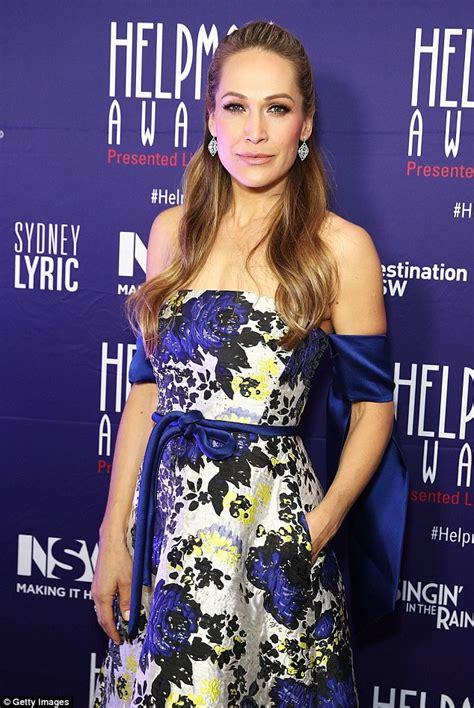 Dress Erika Set erika heynatz stuns at the helpmann awards in floral
