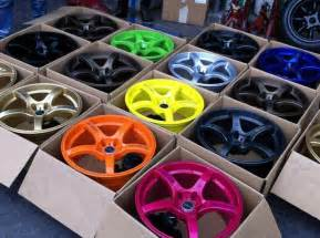 color rims powder coated wheels powder coated wheels