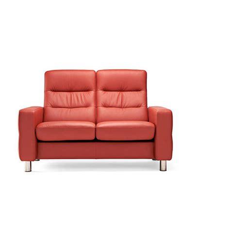 stressless wave high back sofa stressless wave high back loveseat vizion furniture