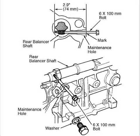 2002 honda accord get a diagram of the timing marks and