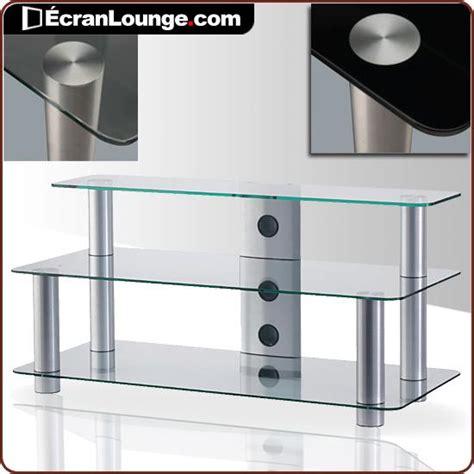 table tele en verre meuble tv en verre meubletv