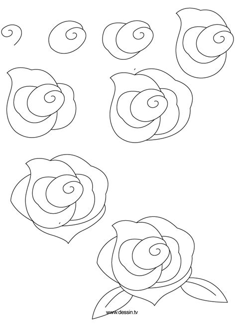 how to draw doodle roses drawing