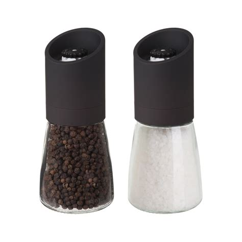 Salt Pepper Mill trudeau 6 quot oslo pepper mill salt mill