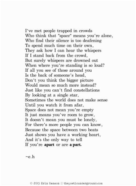 Erin Hanson, Poet | Poems, Sad poems, Eh poems