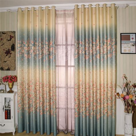 Country Style Window Curtains country style jacquard window curtains
