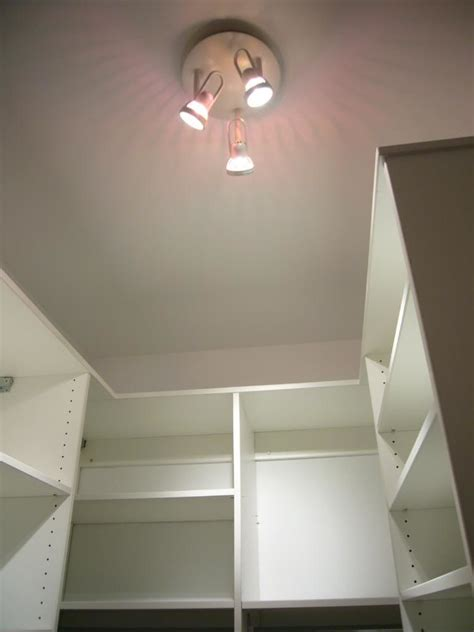 Closet Light Fixture Minimalist Closet Shelving Design Ideas Midcityeast