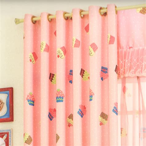 cupcake kitchen curtains sweet cupcake patterns pink curtains