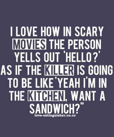 movie quotes hello scary horror movie quotes quotesgram