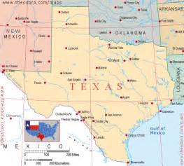 Tx Directions Maps Of Texan Flags Maps Economy Geography