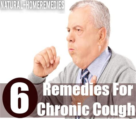 6 effective home remedies for chronic cough