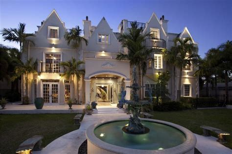 fancy house fancy tropical manor in florida usa
