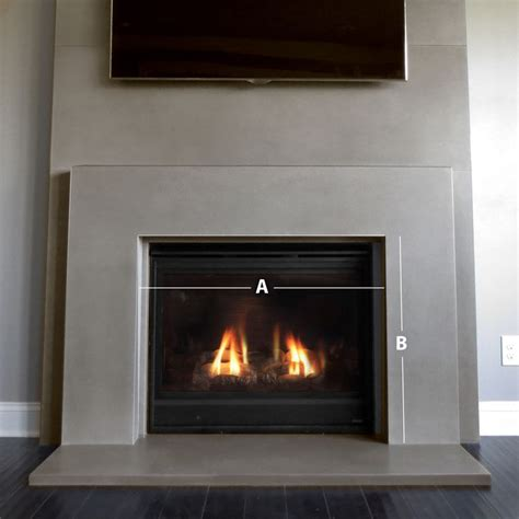 concrete fireplace surrounds 25 best ideas about concrete fireplace on