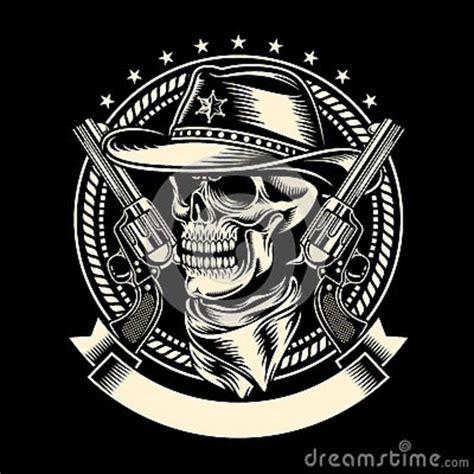 Gildan Custom Graphic Tshirt Marine Pirate Flag vaquero skull con las armas de mano ilustraci 243 n vector