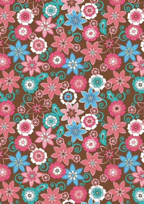 printable flowers for scrapbooking brown and pink floral scrapbook paper cliquer au dessus