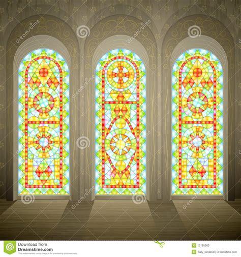 imagenes ventanas goticas ventanas de cristal manchadas g 243 ticas de la iglesia fotos