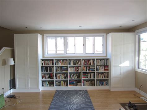 besta closet living room built in bookshelves and closets using besta