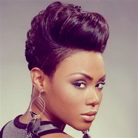 photos of short hair for someone in their sixes black people short hairstyles
