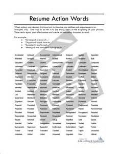 doc words for resume skills