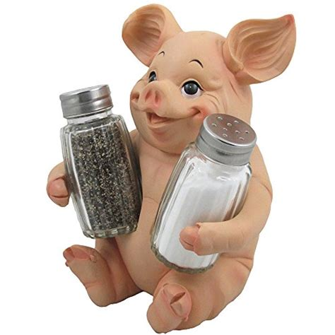 Glass Pig Salt And Pepper Shakers It Or It by Decorative Pig Glass Salt And Pepper Shaker Set With