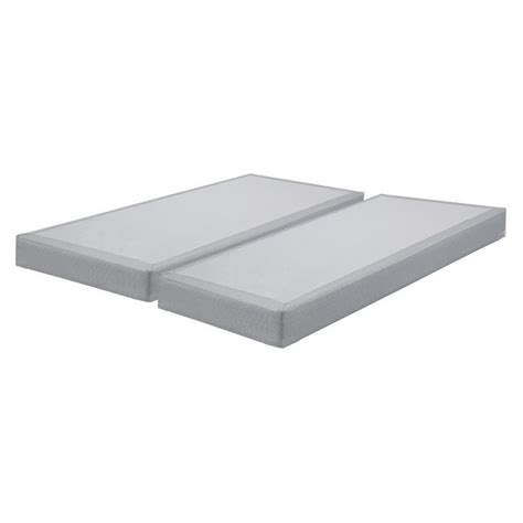 low profile bed foundation sierrasleep king low profile mattress foundation in gray