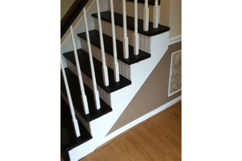 beadboard on stair risers remodeling har