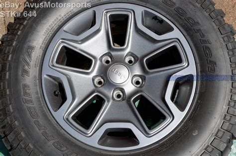 stock jeep wheels and tires jeep wrangler stock wheels and tires ebay autos post