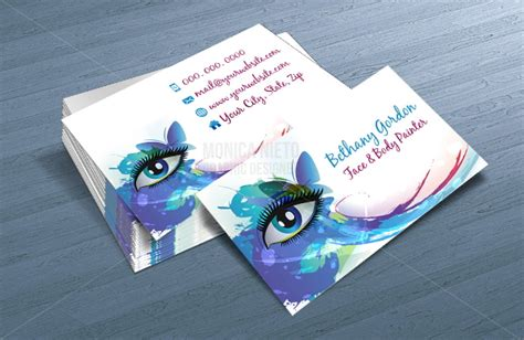 Free Business Card Templates Artwork by 15 Artists Business Card Templates Free Premium Templates