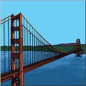 color of golden gate bridge clip golden gate bridge color i abcteach abcteach