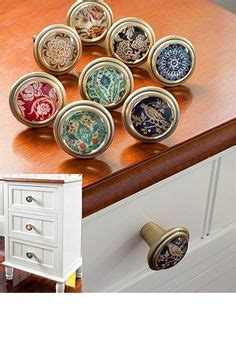 Dresser With Different Knobs by Painted Knobs Knobs Grey Mustard Yellow