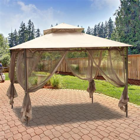 Fortunoff Nantucket Gazebo by Gazebo Replacement Canopy Top And Replacement Tops