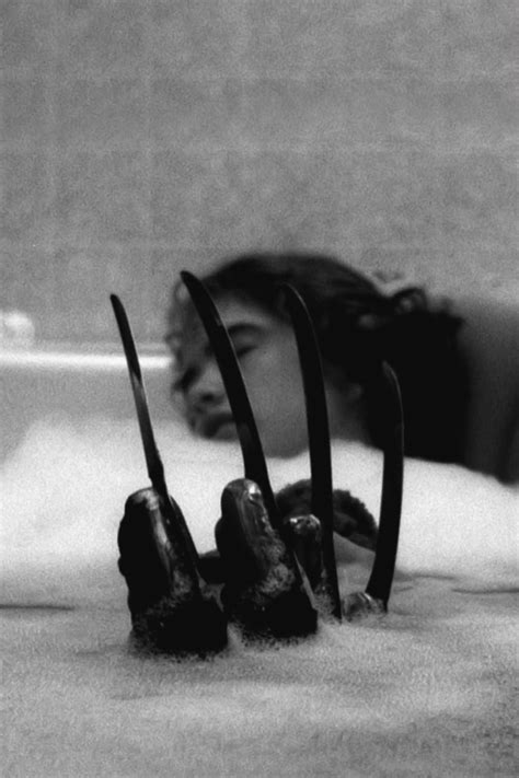 a nightmare on elm street bathtub scene freddy kruger on tumblr