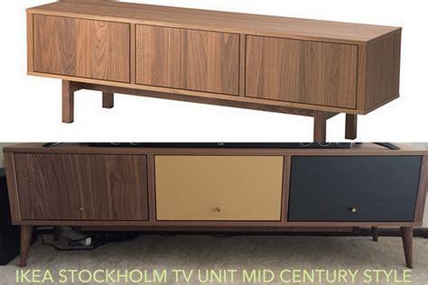 ikea console hack ikea stockholm mid century tv stand redo ikea hackers