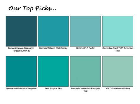 aqua paint colors cool turquoise paint colors 15 top galleries homes