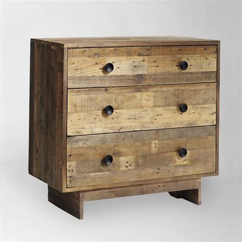 Modern Bedroom Dressers And Chests Emmerson 3 Drawer Dresser Modern By West Elm