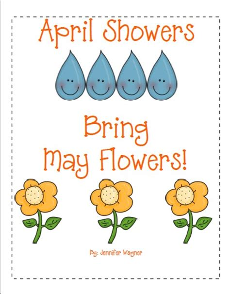 April Showers Bring May Flowers Poem by Grade It S Almost April