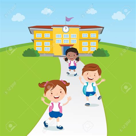 going home from school clipart clipartxtras