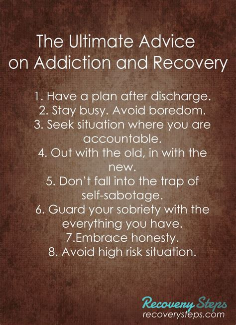 Heroin Detox Tips by Best 25 Addiction Recovery Ideas On
