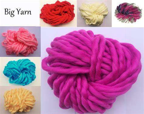 big knitting wool bright colors big thick knitting yarn korean diy