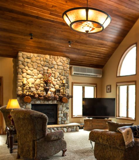 Tongue And Groove Fireplace by Steamboat Springs Mountain Home A Luxurious Retreat