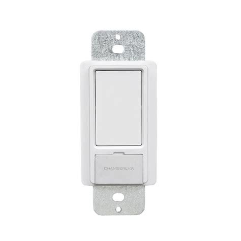 chamberlain wslcev remote light switch chamberlain myq remote light switch wslcev p1 the home depot