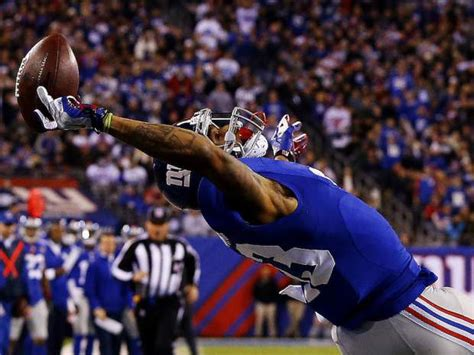 the science of odell beckham jrs incredible onehanded td catch 2014 watch the new york giants odell beckham jr make an