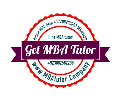 Mba Accounting Tutor by Mba Tutor Mba Mba Tuition Accounting