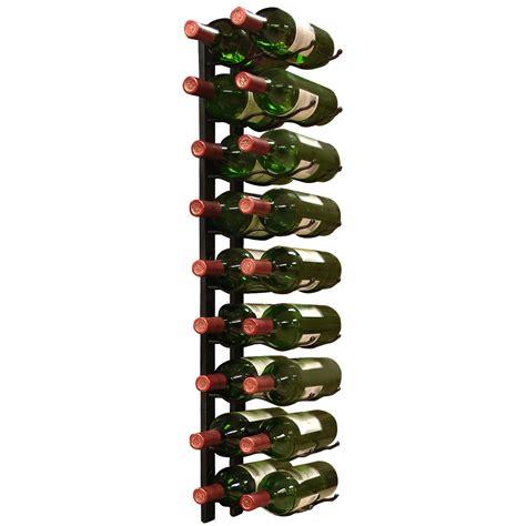 Wine Rack Bottle Spacing by 18 Bottle Row Wine Rack In Wine Racks