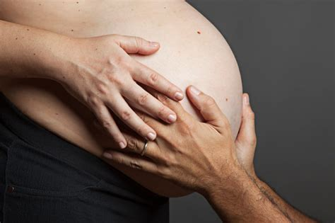 how is a s gestation psa it is creepy to rub a s belly without asking