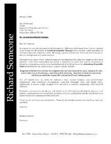 Relations Manager Cover Letter by Cover Letter For Position Cover Letter Templates