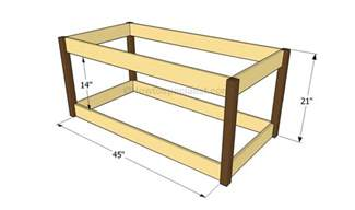 Plans For Making A Toy Box by How To Build A Toy Box Howtospecialist How To Build Step By Step Diy Plans